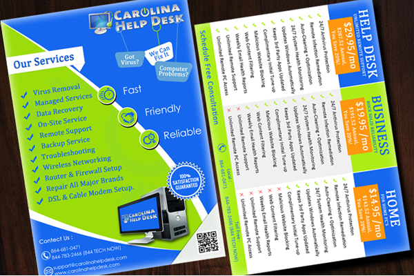 Flyer designing services in khanna