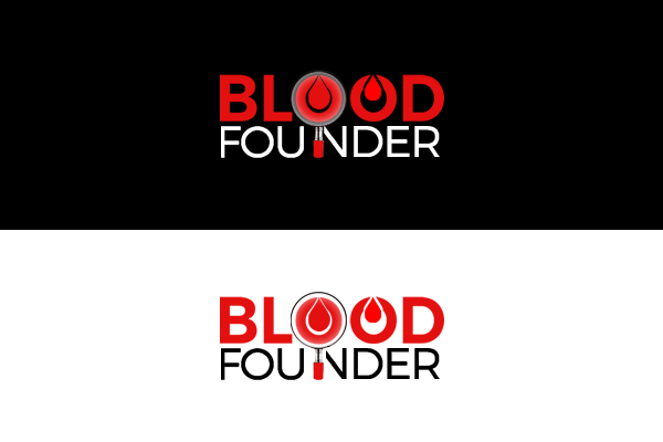 Blood founder / donation logo