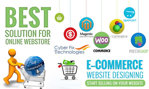 E-commerce website services